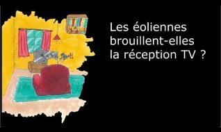 Embedded thumbnail for Les éoliennes perturbent elles la réception TV ?
