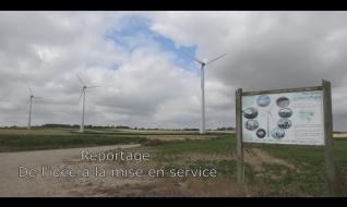 Embedded thumbnail for Le développement d'un parc éolien reportage